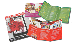 A4 Flyers Folded to DL (6pp DL Brochure)